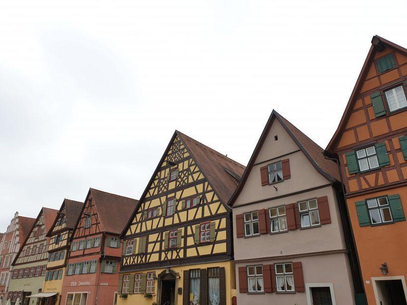"Dinkelsbühl, ""Romantische Strasse"" (la Ruta Romántica), Alemania."