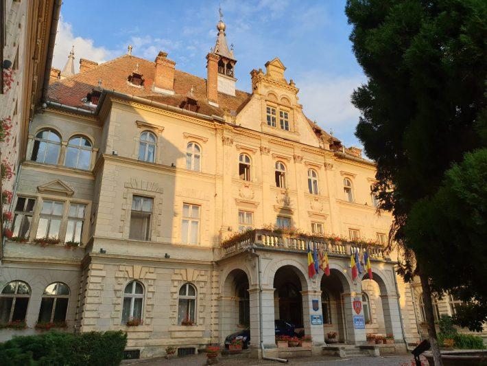 Ayuntamiento, Sighisoara (Rumanía)