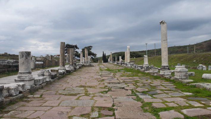 Vía Tecta, Asclepeion, Pérgamo, Bergama (Turquía)