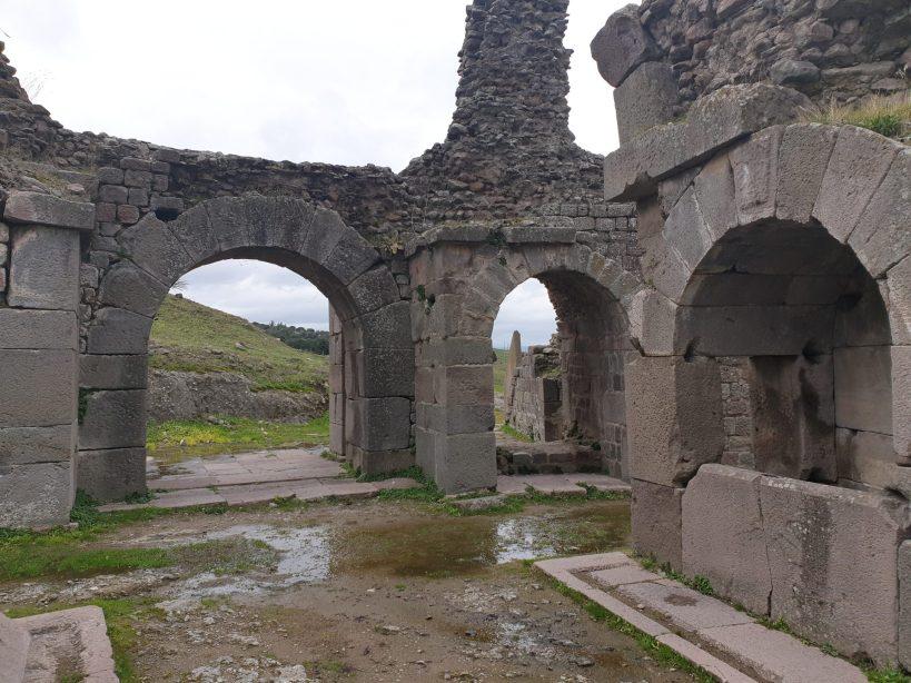 Templo de Telesforo, Asclepeion, Pérgamo, Bergama (Turquía)