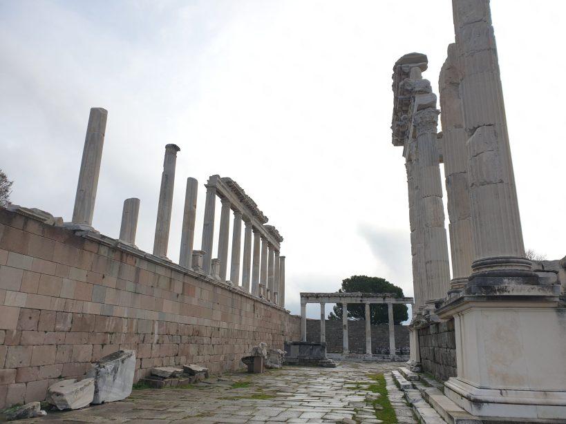 Acrópolis de Pérgamo, Bergama (Turquía)