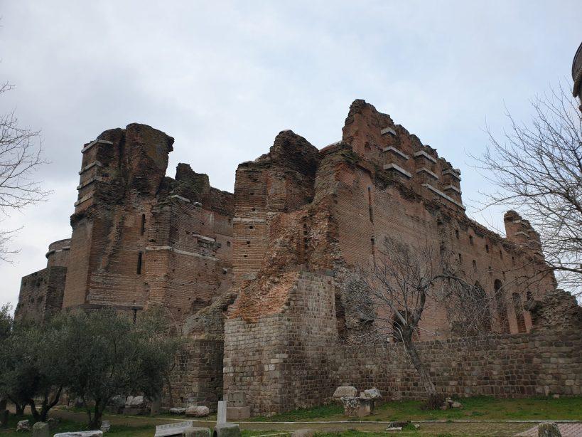 Basílica Roja, Pérgamo, Bergama (Turquía)