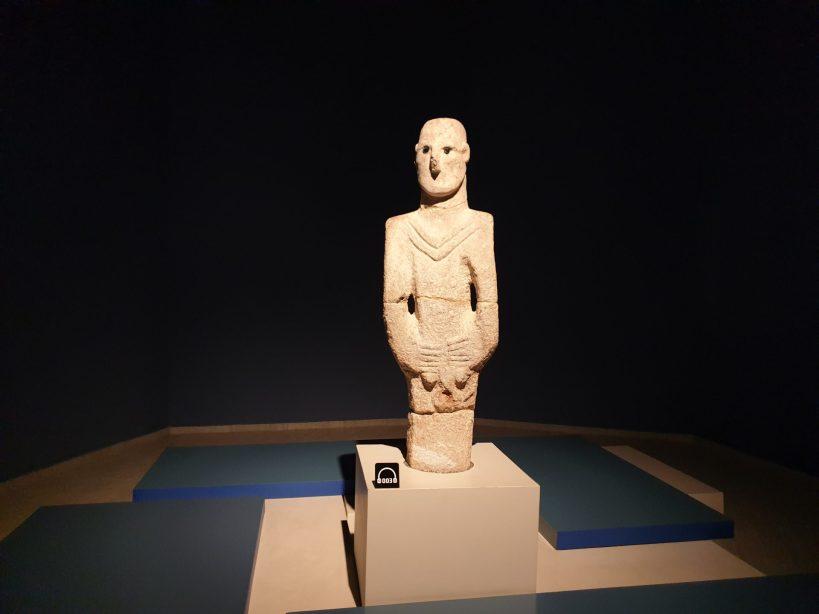 Estatua Balikligöl, Museo Arqueológico de Sanliurfa (Turquía)