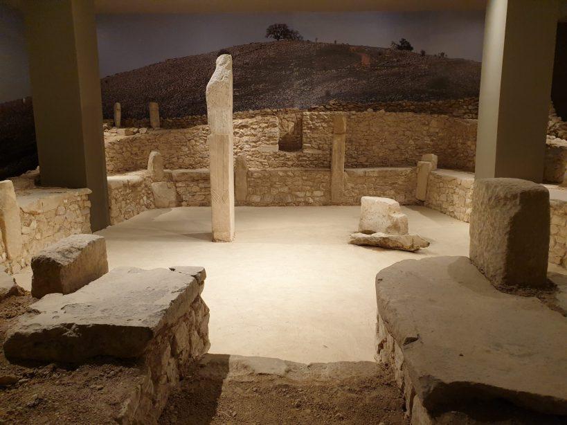 Nevali Çori, Museo Arqueológico de Sanliurfa (Turquía)