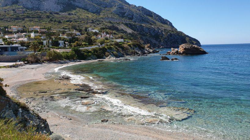 Camino al Templo de Poseidón, Cabo Sounion (Grecia)