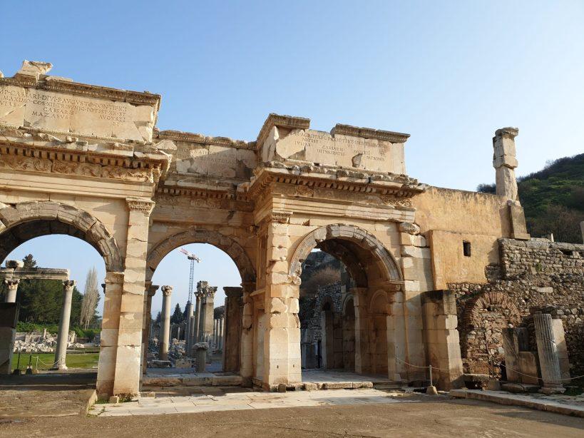Tras el Arco encontramos el Ágora Inferior, Éfeso (Turquía)
