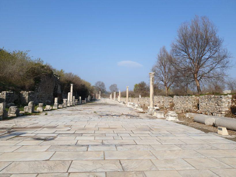 Vía Arcadia, Éfeso (Turquía)