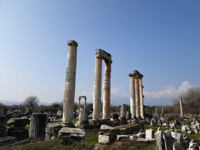 Templo de Afrodita, Afrodisias (Turquía)