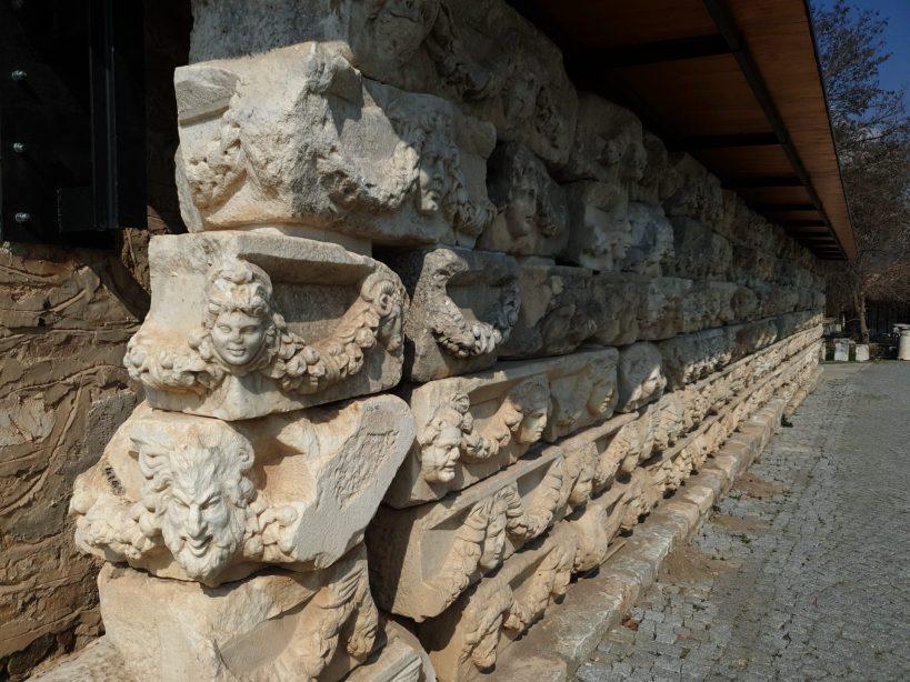 Frisos del Pórtico de Tiberio, Afrodisias (Turquía)