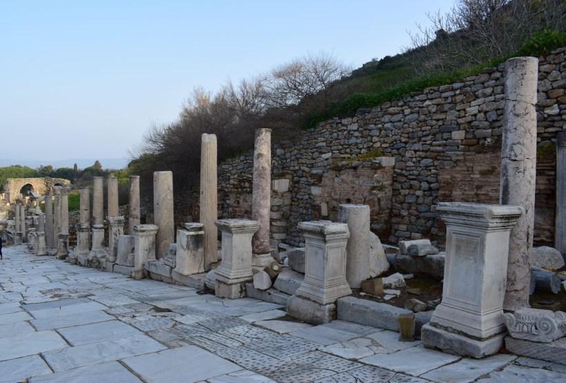 Via de los Curetes, Éfeso (Turquía)