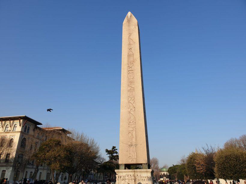 Obelisco de Teodosio, Hipódromo, Estambul (Turquía)