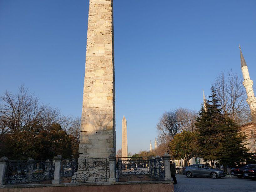 Obelisco de Piedra, Hipódromo, Estambul (Turquía)