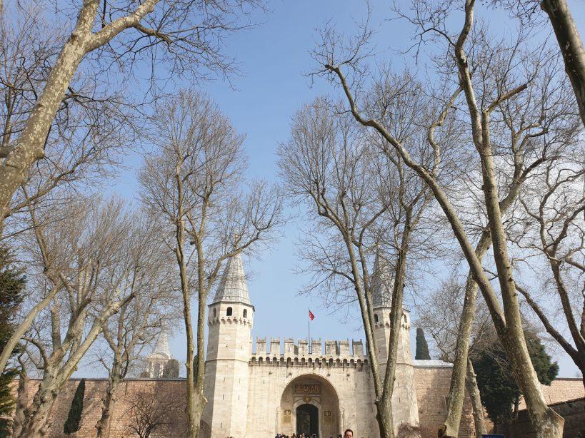Patio de Los Jenízaros, Palacio Topkapi , Estambul (Turquía)