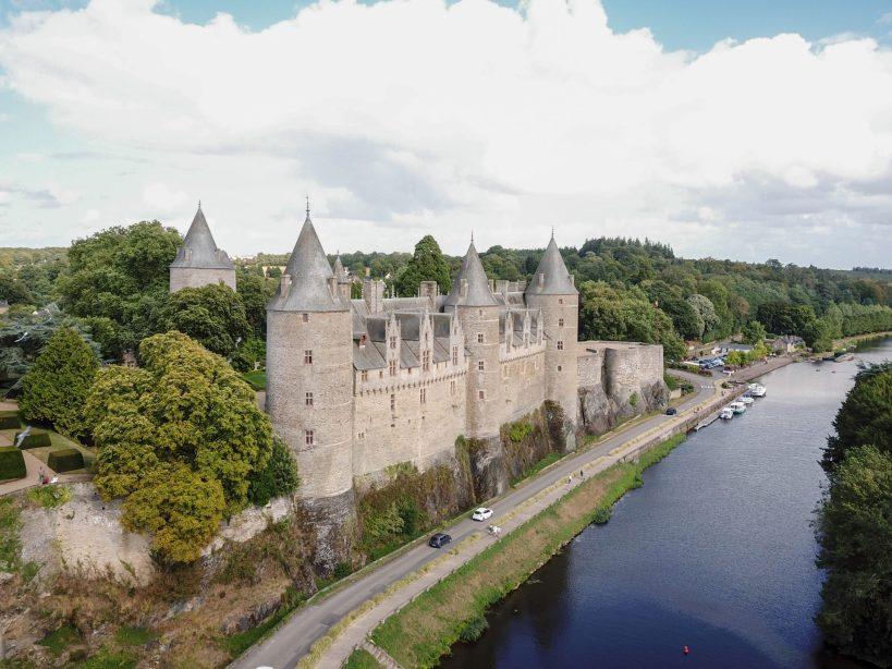 Castillo de Josselin (Bretaña, Francia)