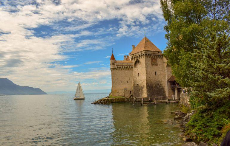Castillo Chinon (Montreux, Suiza)