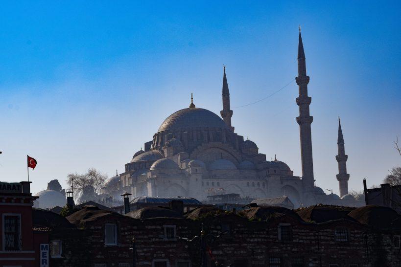 Mezquita Süleymaniye, Estambul (Turquía)