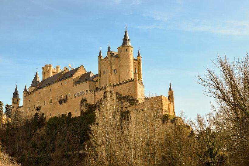 Alcázar de Segovia (Segovia, España)