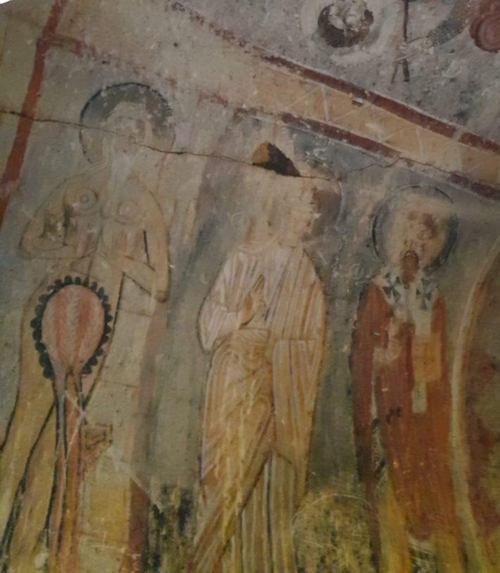 Yilanli Kilise, Museo al aire libre de Göreme, Capadocia (Turquía)
