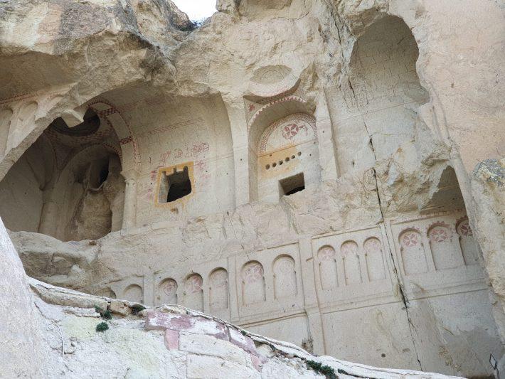 Karanlik Kilise, Museo al aire libre de Göreme, Capadocia (Turquía)