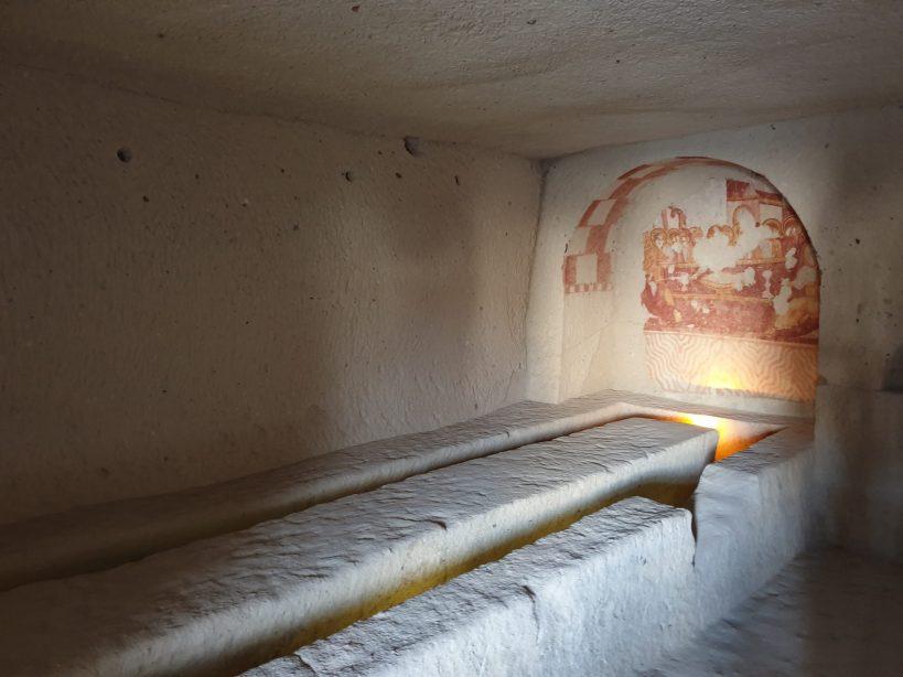 Çarikli Kilise, Museo al aire libre de Göreme, Capadocia (Turquía)