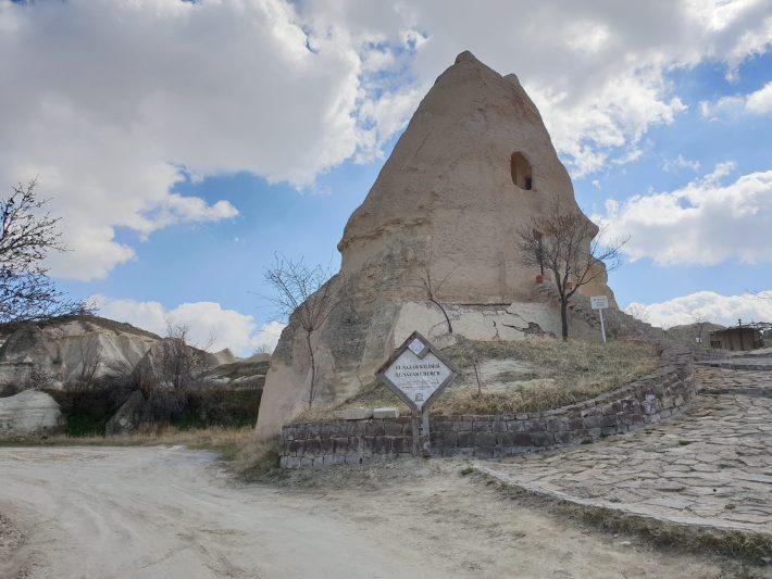 Nazar Kilise, Göreme, Capadocia (Turquía)