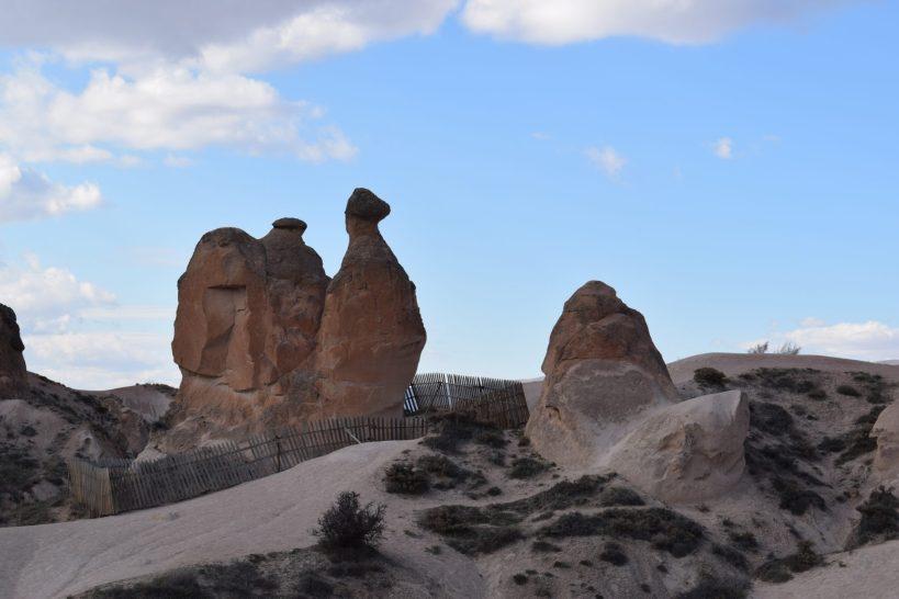 Devrent Valley, con su famosa formación rocosa con forma de camello, Capadocia (Turquía)