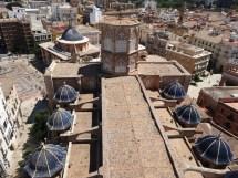 Vistas de la Catedral de Valencia desde el Micalet
