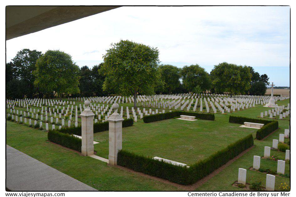 Beny sur Mer_cementerio canadiense normandia