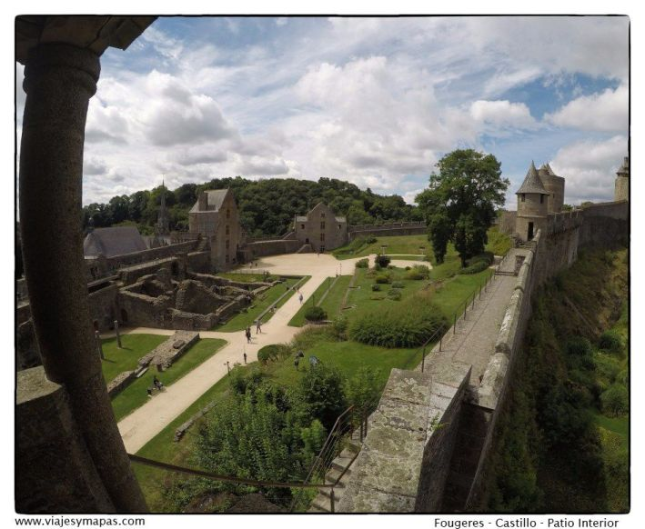 castillo de Fougeres
