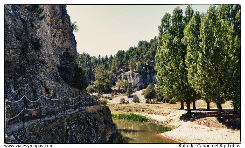 Ruta por el cañón del río lobos