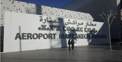 aeropuerto de Marrakech