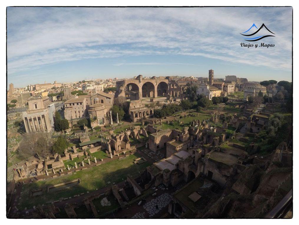 ruta por la roma antigua