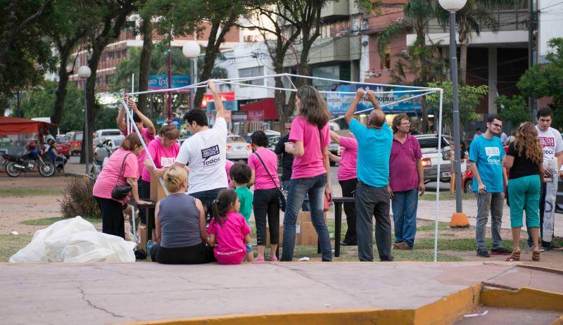 ACtividades en la plaza