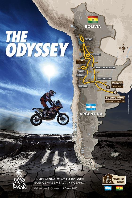 imagen de la página web de Dakar http://www.dakar.com/