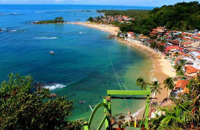 Ilha de Tinhare playa