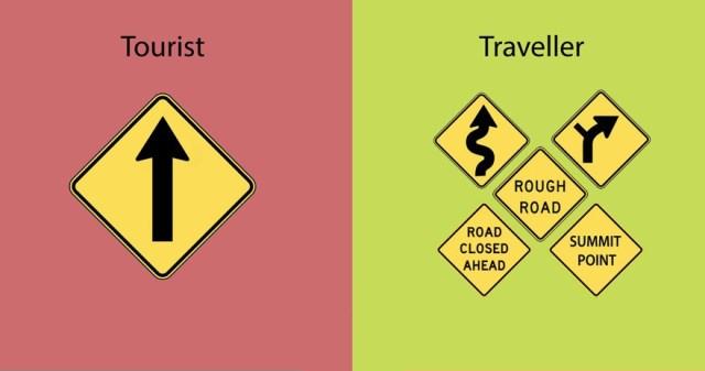 diferencias entre un viajero y un turista 2
