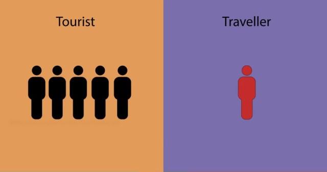 diferencias entre un viajero y un turista 3