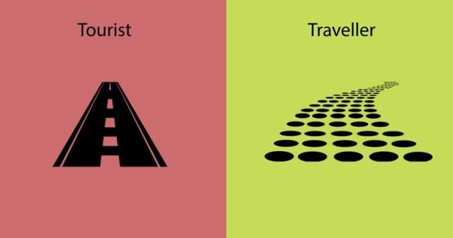 diferencias entre un viajero y un turista 4
