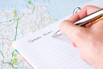 planeando un viaje
