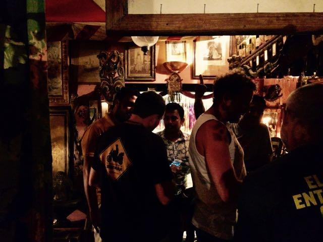 El pub del maharajá