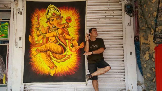 Con Ganesha, que era un dios estupendo