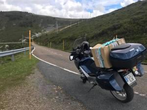 vacaciones en moto