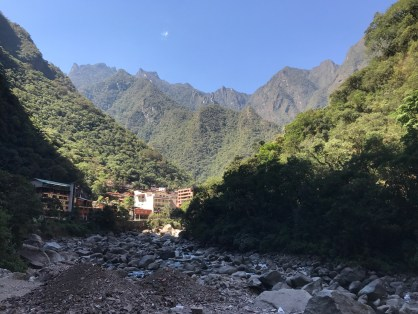Vista de Aguas Calientes