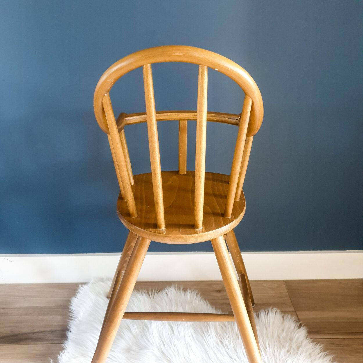 Kinderstoel Hout