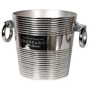 silver nickel wine cooler viano interiors