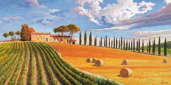 Colline toscane - Vianzone Arte