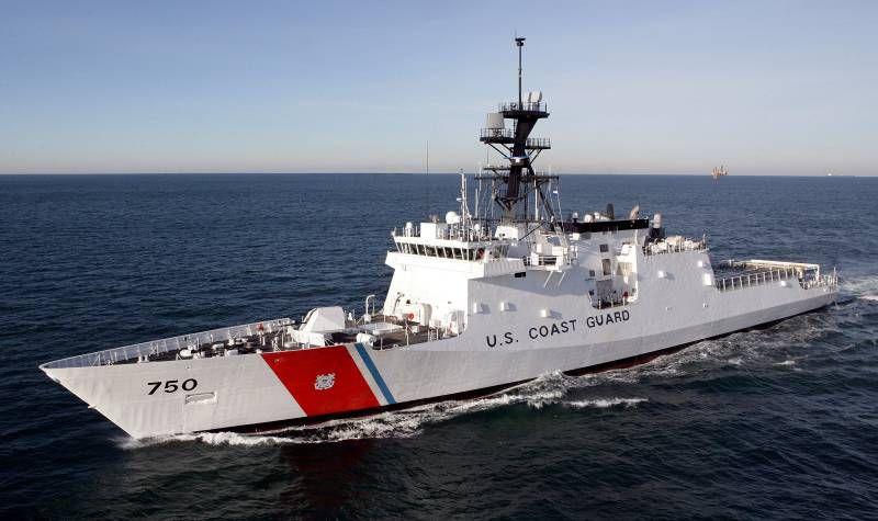 El buque de la Guardia Costera navegará apoyando a los países amigos, en el control de la pesca ilegal.