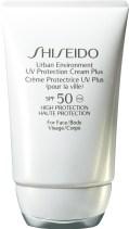 perheenäidin parhaat aurinkovoiteet shiseido_urban_environment_uv_protection_cream_plus_spf50