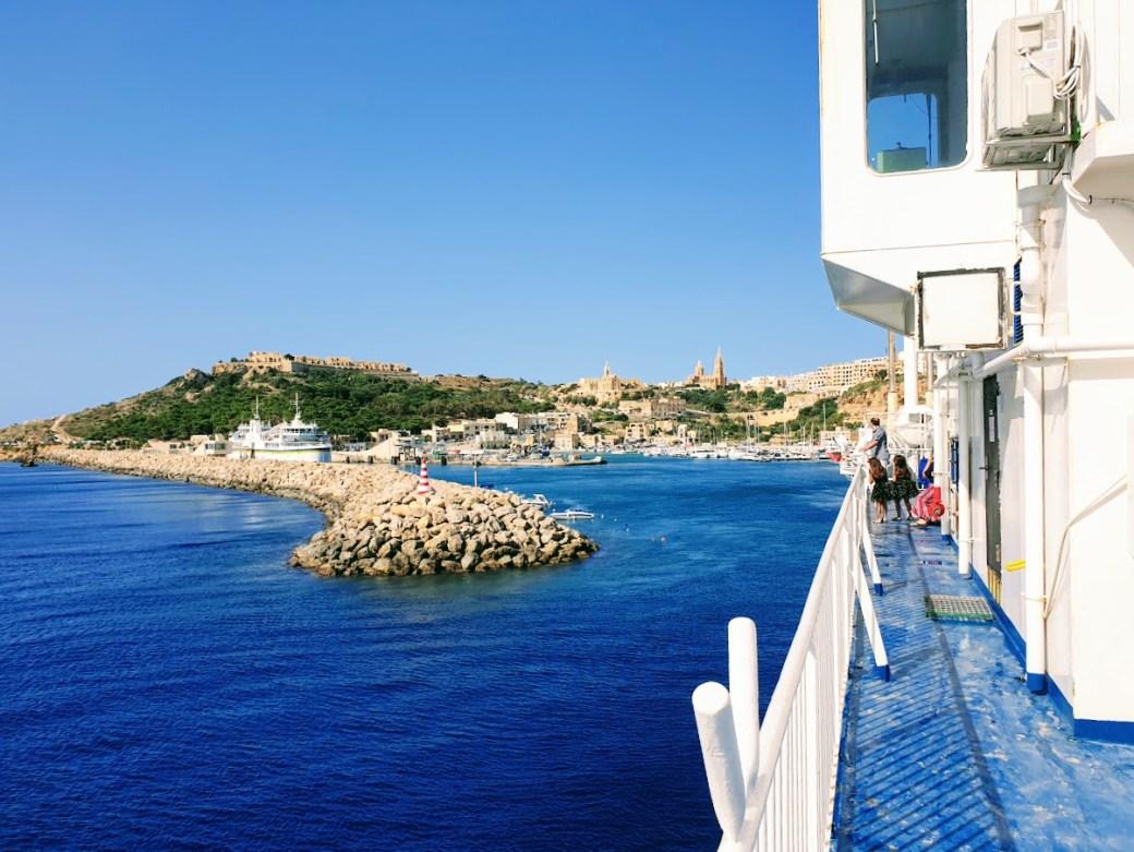 Meri - Päivän inspiraatiokuva, Gozo Channel Ferry
