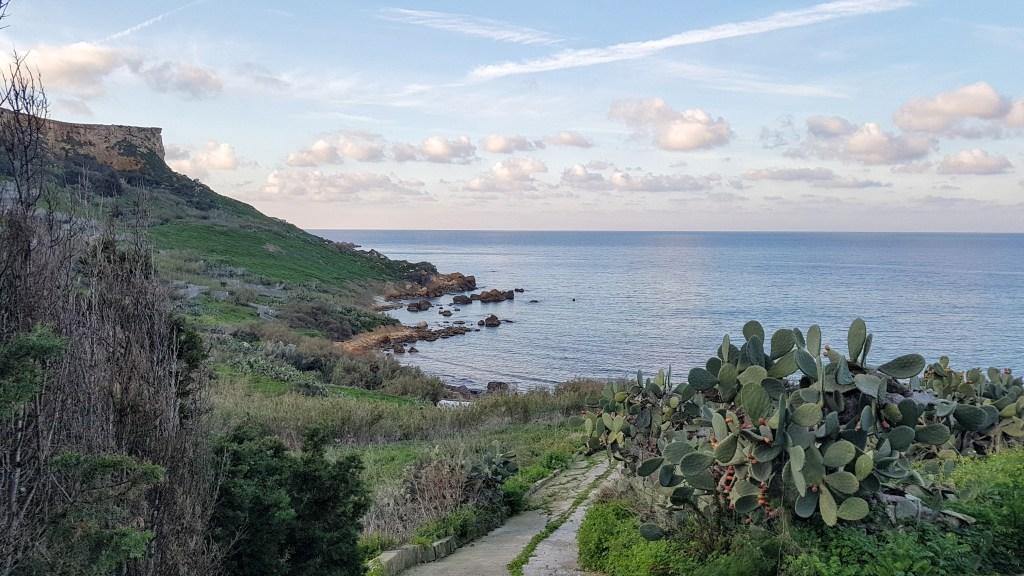 San Blas Bay, In-Nadur Walk B, Nadur, Gozo